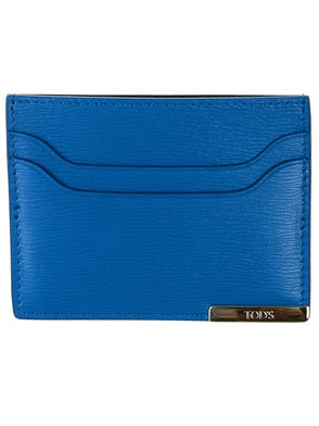 TOD'S - BLUE CARD HOLDER