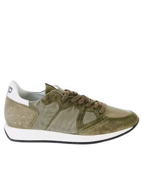 PHILIPPE MODEL - GREEN SNEAKERS