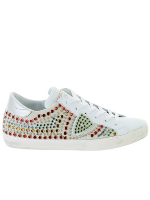 PHILIPPE MODEL - WHITE PARIS SNEAKERS