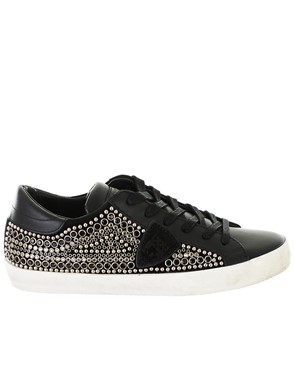 PHILIPPE MODEL - BLACK PARIS SNEAKERS