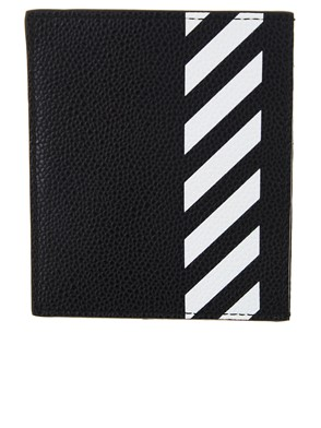 OFF WHITE c/o VIRGIL ABLOH - BLACK DIAG CARD HOLDER