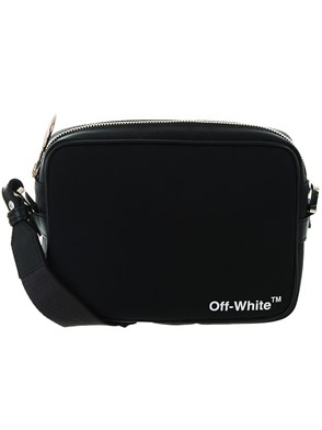 OFF WHITE - BLACK CROSS BODY BAG
