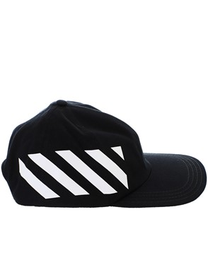 OFF WHITE - CAPPELLO NERO