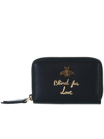 1f86014b1435 gucci BLACK CARD HOLDER available on lungolivigno.com - 27488