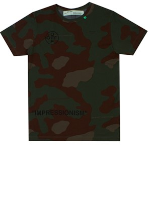 OFF WHITE - CAMOUFLAGE T-SHIRT