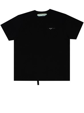 OFF WHITE - BLACK T-SHIRT