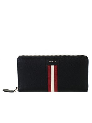 BALLY - BLACK CARRYOVER WALLET