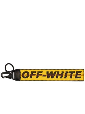 OFF WHITE - YELLOW INDUSTRIAL KEYRING