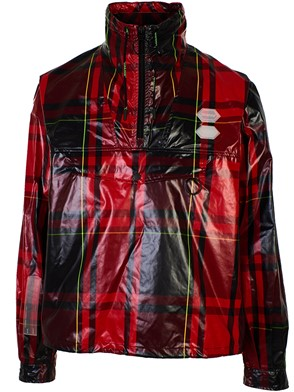 OFF WHITE - GIUBBINO CHECK ANORAK