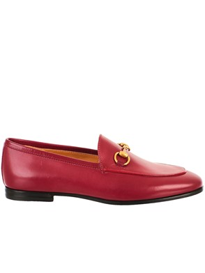 GUCCI - RED JORDAN LOAFERS