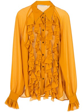 PHILOSOPHY BY LORENZO SERAFINI - YELLOW ROUGE SHIRT
