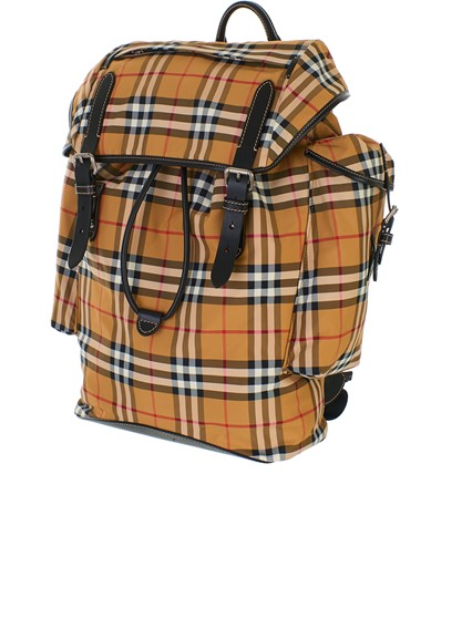 BURBERRY YELLOW ANTIQUE BACKPACK