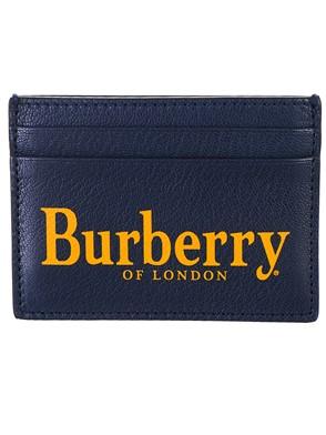 BURBERRY - PORTACARTE BLU VERDE