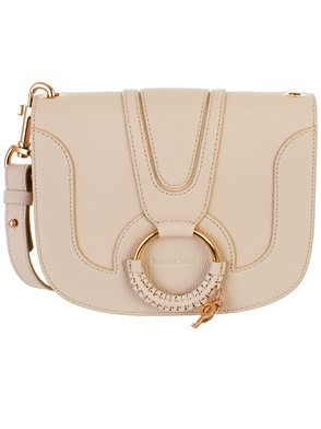 SEE BY CHLOE' - BORSA HANA MEDIA CEMENT BEIGE