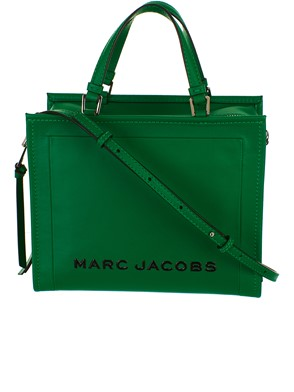 MARC JACOBS - BORSA THE BOX SHOPPER 29 VERDE