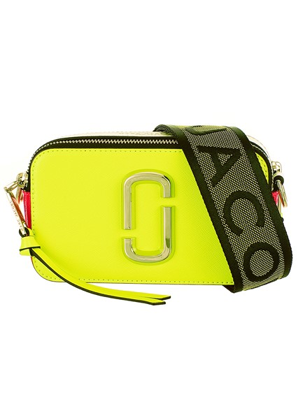 7ecbd98a039 marc jacobs NEON YELLOW SNAPSHOT BAG available on lungolivigno.com ...