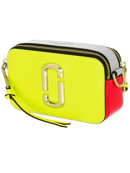 c3632ab9f3aa marc jacobs NEON YELLOW SNAPSHOT BAG available on lungolivigno.com ...