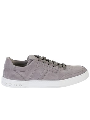 TOD'S - SNEAKERS F.CASSETTA SUEDE GRIG