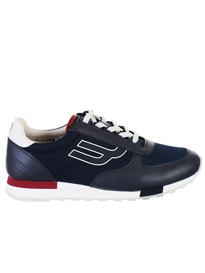 BALLY - NAVY CLASSIC SNEAKERS