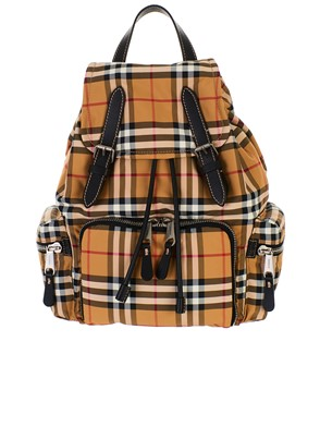 BURBERRY - ANTIQUE YELLOW II MD BACKPACK