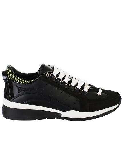 dsquared2 BLACK SNEAKERS available on lungolivigno.com - 27614 e49885d1c61b