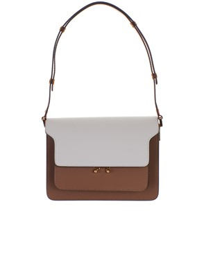 MARNI - BORSA TRUNK MULTICOLOR BIANCA
