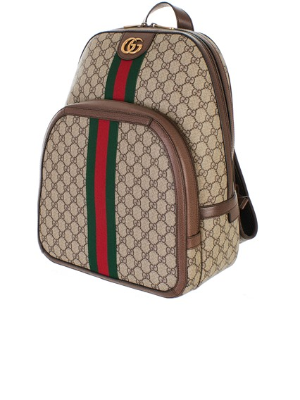 gucci BEIGE GG SUPREME BACKPACK available on lungolivigno.com - 27631 1998077cf7670