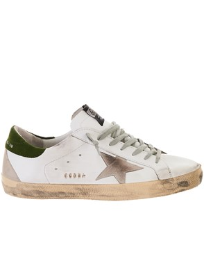 GOLDEN GOOSE DELUXE BRAND - SNEAKERS SUPERSTAR WHITE/DILL