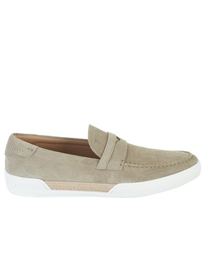 TOD'S - SAND LOAFERS