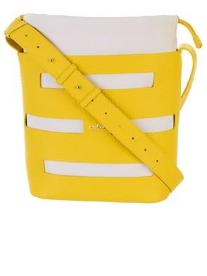 HOGAN - NEON YELLOW BUCKET BAG