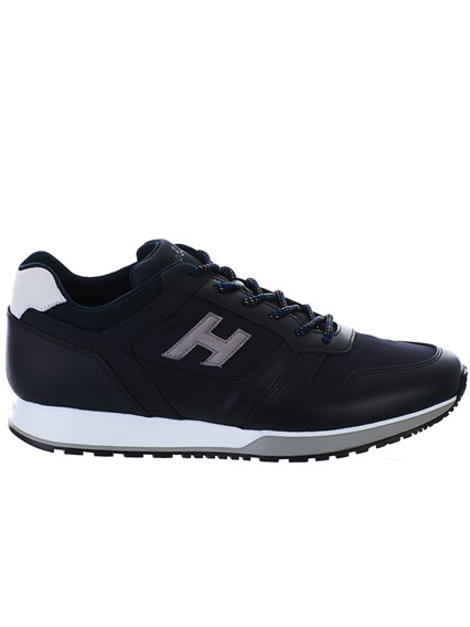 HOGAN BLACK H321 SNEAKERS