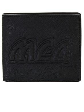 McQ ALEXANDER MCQUEEN - BLACK METAL WALLET