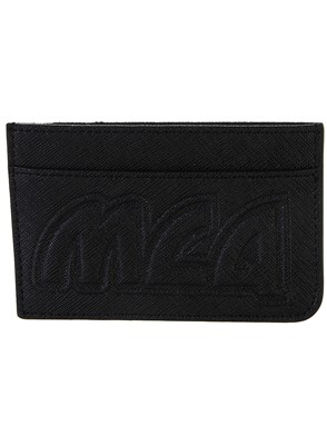 McQ BY ALEXANDER MCQUEEN - BLACK METAL CARD HOLDER