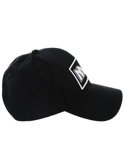 d5f727809fe72 mcq by alexander mcqueen BLACK METAL BASEBALL CAP available on ...