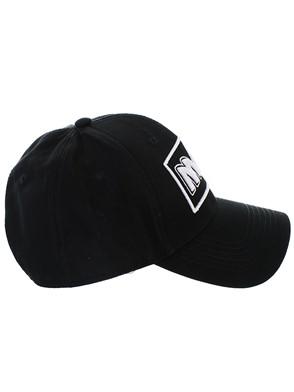 McQ ALEXANDER MCQUEEN - BLACK METAL BASEBALL CAP