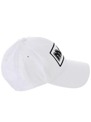 McQ ALEXANDER MCQUEEN - WHITE METAL BASEBALL CAP
