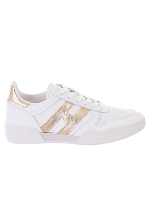 HOGAN - WHITE RETRO VOLLEY SNEAKERS