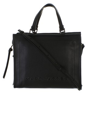 MARC JACOBS - BLACK SHOPPER BAG