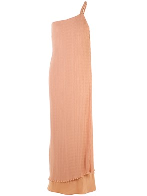 MAX MARA - PINK ORLEANS PLEATED DRESS