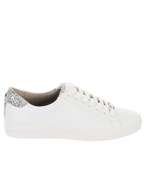 MICHAEL KORS - SNEAKER IRVING LACE UP BIANCA
