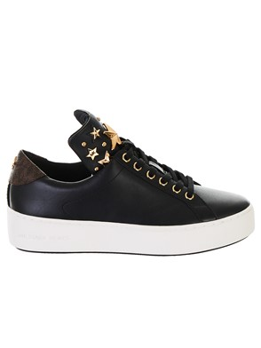MICHAEL KORS - SNEAKER MINDY LACE UP NERA