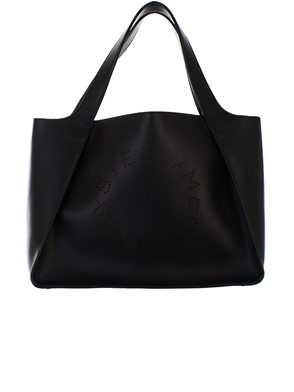 STELLA MC CARTNEY - BLACK TOTE BAG