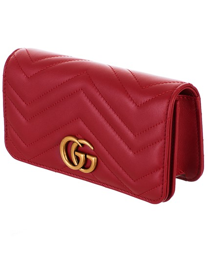 378f44aa2da6f2 gucci RED SUPERMINI GG MARMONT BAG available on lungolivigno.com - 27789