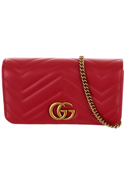 30e53d4ff gucci RED SUPERMINI GG MARMONT BAG available on lungolivigno.com - 27789