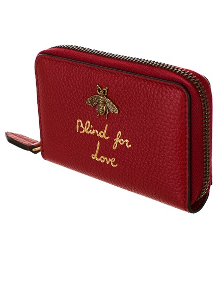 636d51e910d gucci RED BEE CARD HOLDER available on lungolivigno.com - 27791