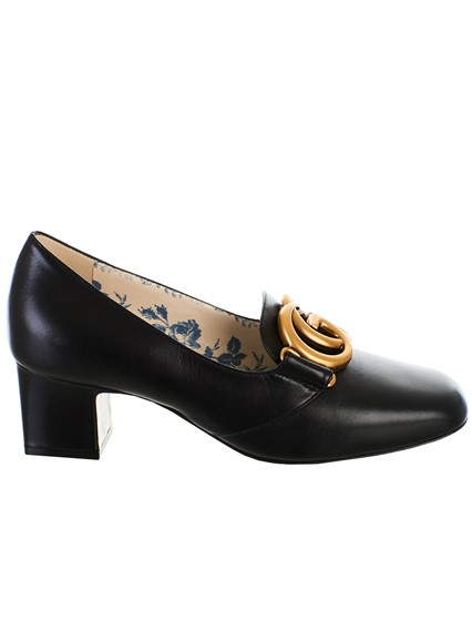 0c630c76dc0757 gucci BLACK MALAGA PUMPS available on lungolivigno.com - 27795