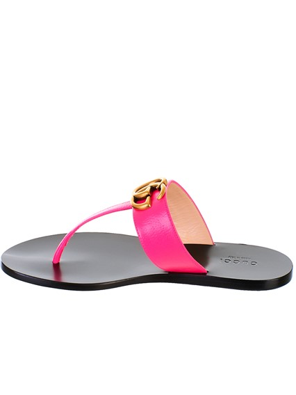 eecb624ede9 gucci FUCHSIA FLIP FLOPS available on lungolivigno.com - 27798