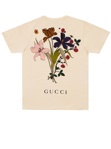 ac148dbbe2a gucci IVORY T-SHIRT CHATEAU MARMONT available on lungolivigno.com ...