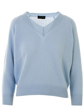 ROBERTO COLLINA - LIGHT BLUE SWEATER