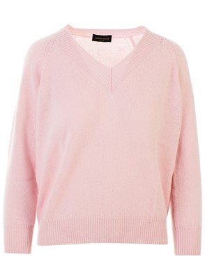 ROBERTO COLLINA - PINK SWEATER